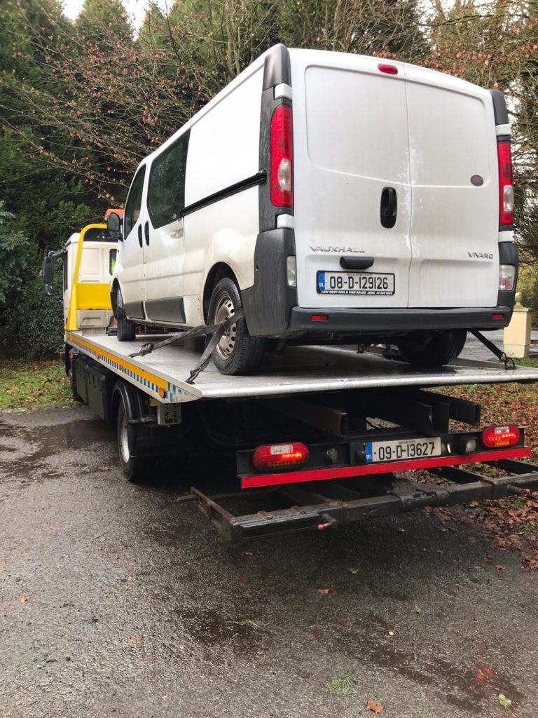 Van recovery Meath