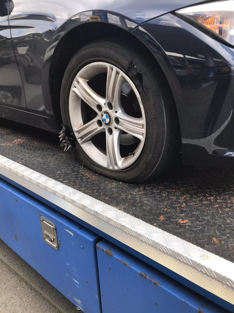Flat wheel Replacement