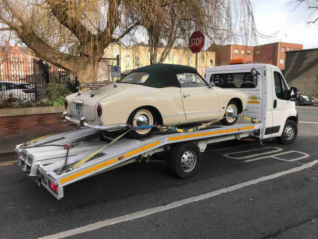 classic car recovery